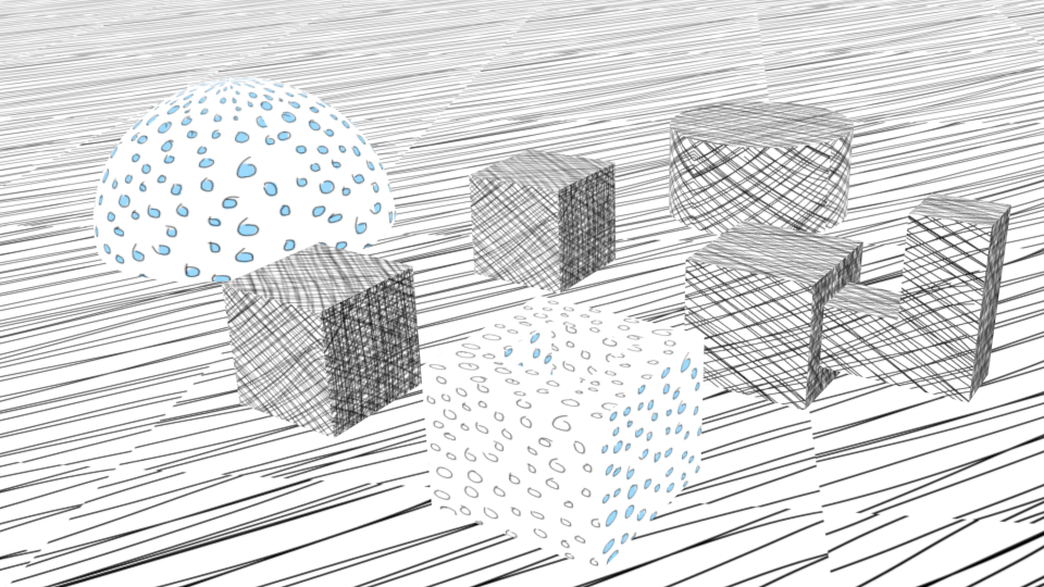 Line Drawing Net : Line art experiments — bencrowder