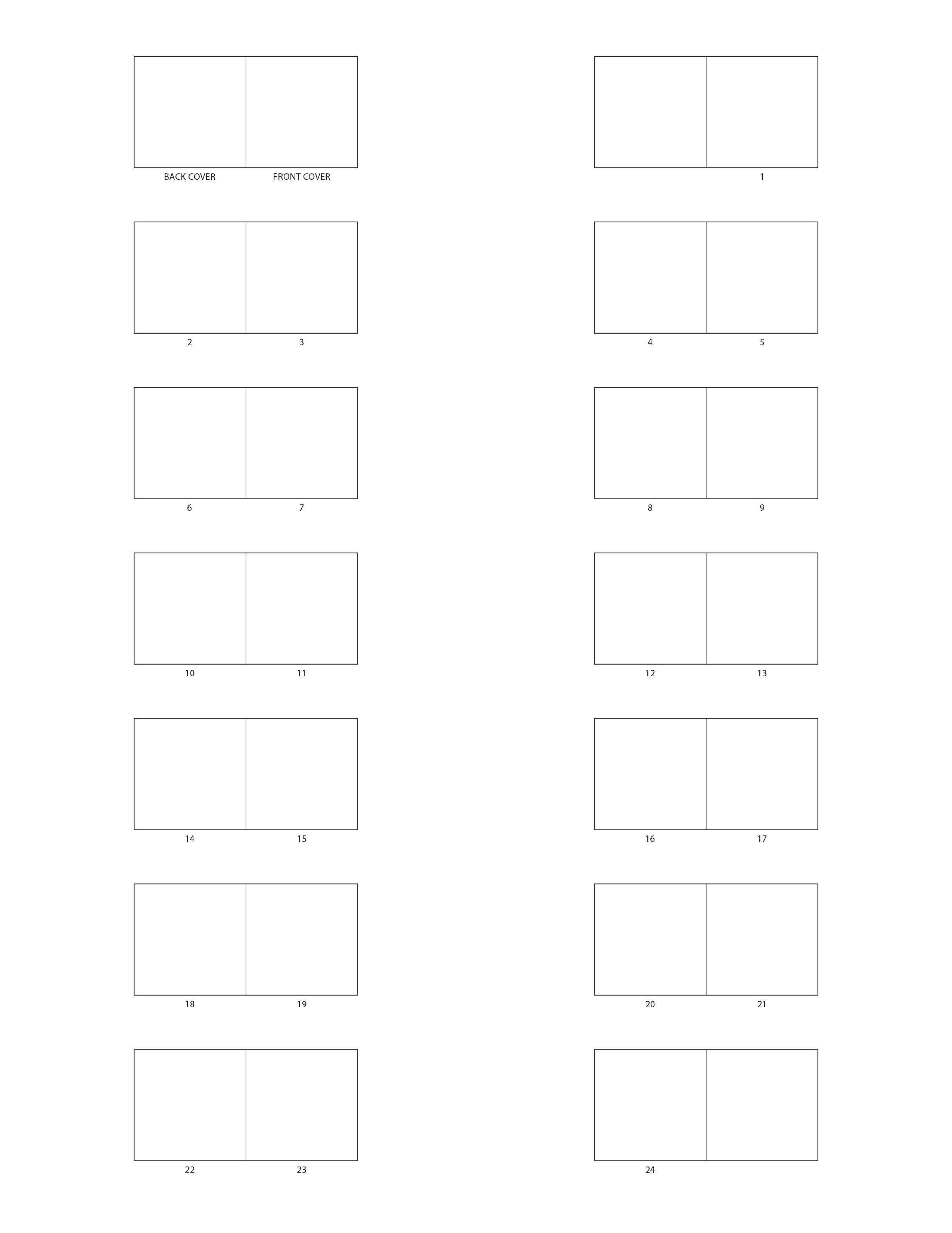 picture book templates. Black Bedroom Furniture Sets. Home Design Ideas