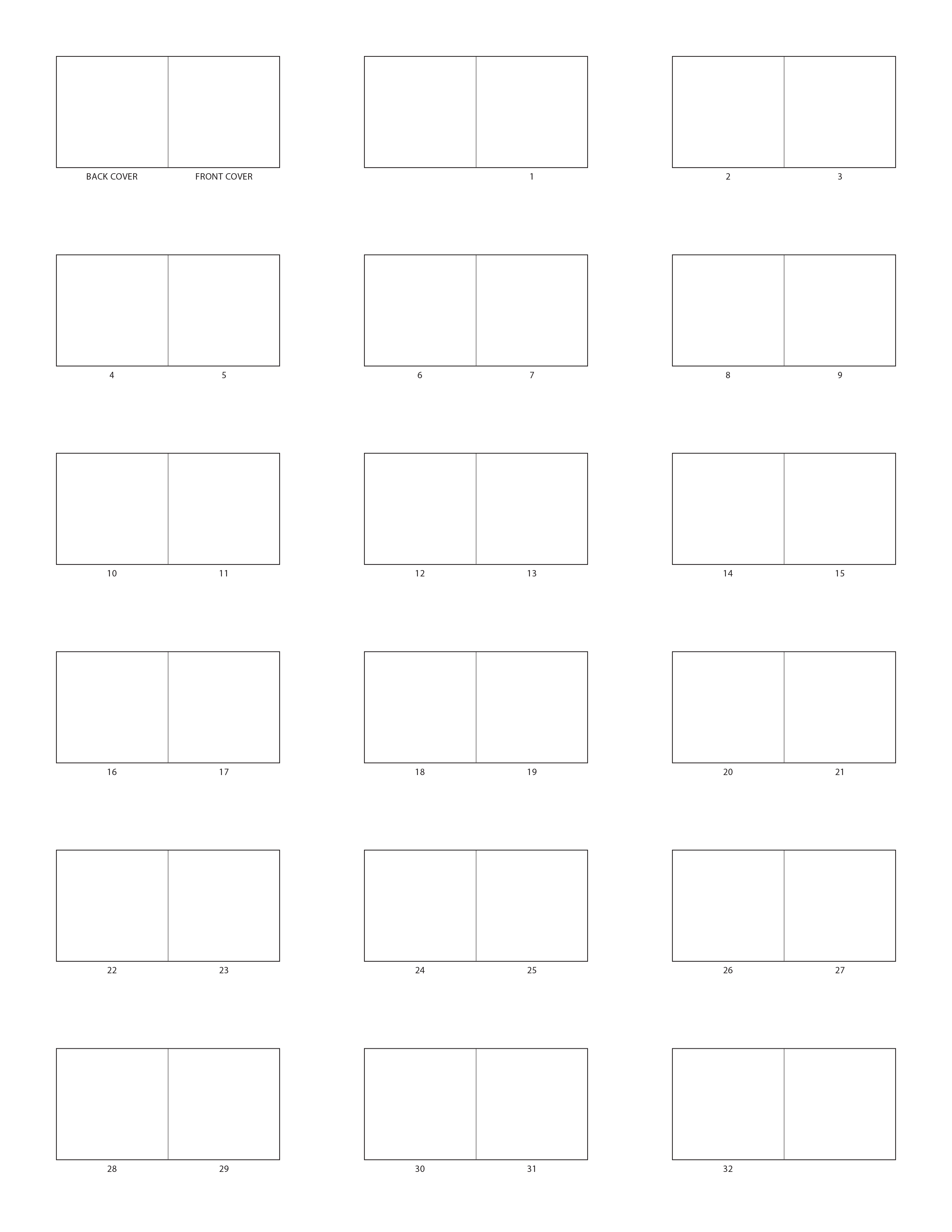 picture book templates