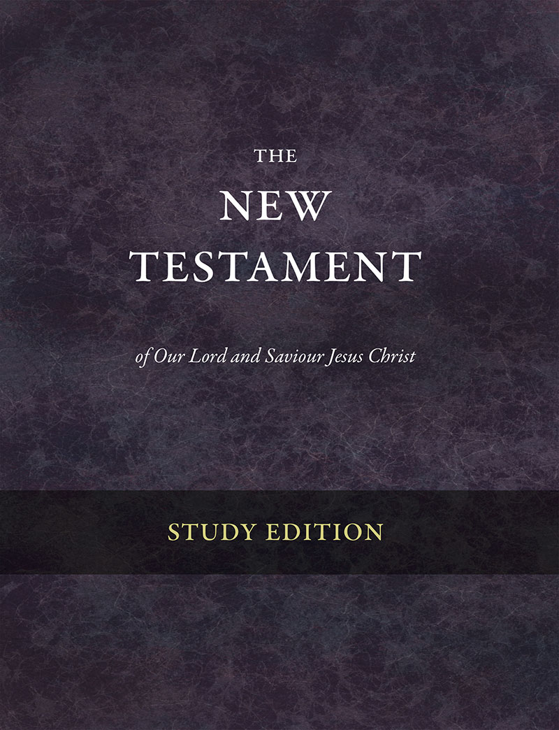 The New Testament: Study Edition