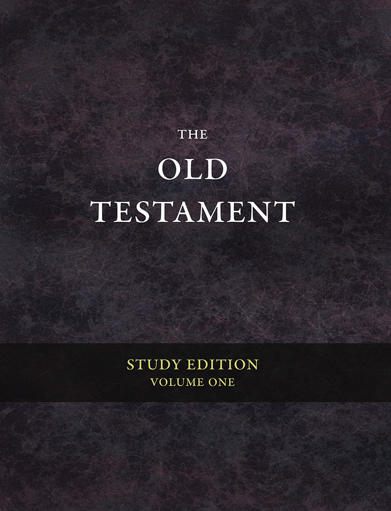 The Old Testament: Study Edition